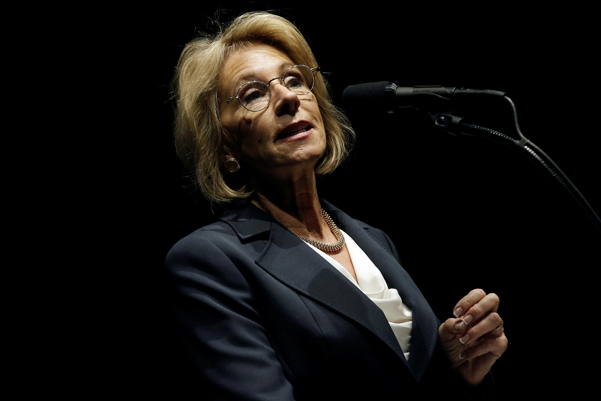 Betsy DeVos, a billionaire Republican from Michigan, has been nominated to head the federal Education Department.