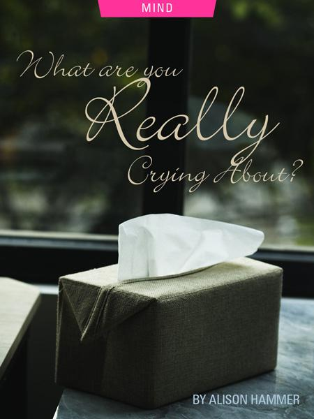 What Are You Really Crying About? by Alison Hammer. Photograph of a box of tissues by Raphiell Alfaridzy.