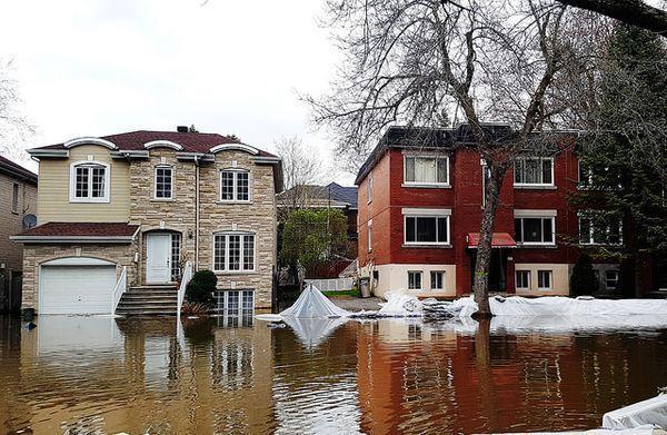quebec flooded