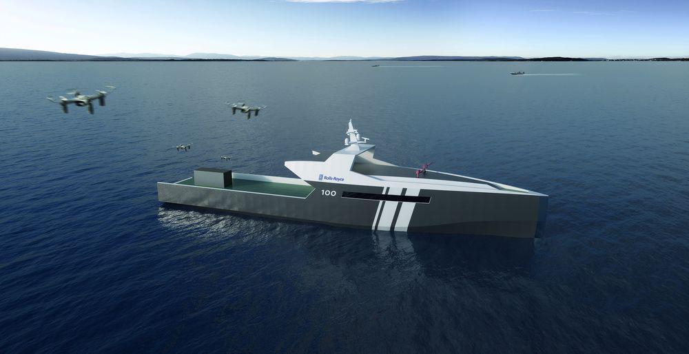 Autonomous ship concept