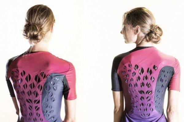 bacteria based tech shirt for sweat