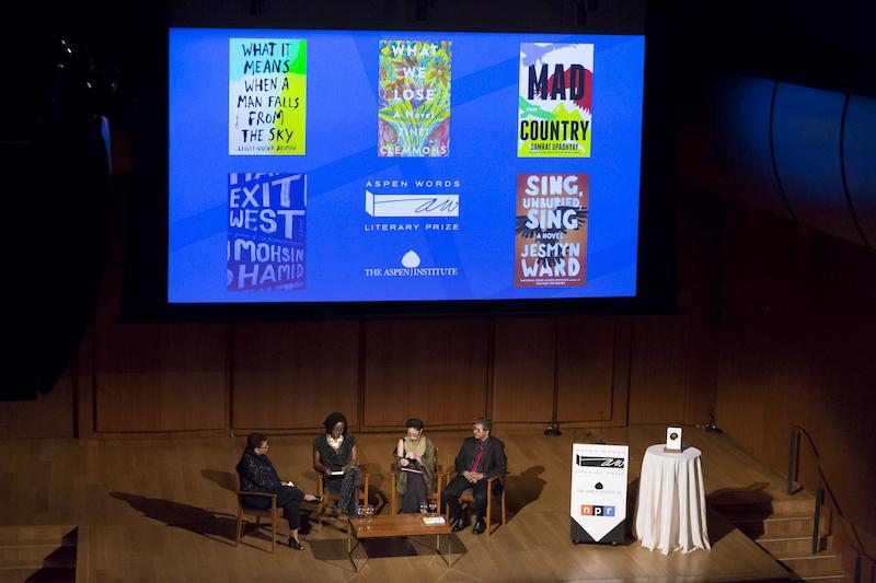Aspen Words Literary Prize ceremony